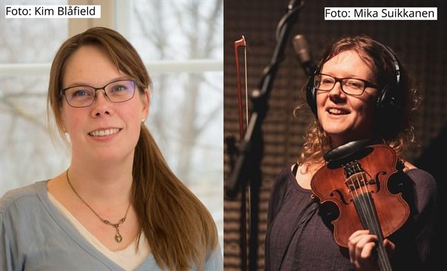 Johanna Björkholm och Johanna Lönngren håller en föreläsning ihop på onsdag. Den ingår i Kaustby folkmusikfestivals digitala program.