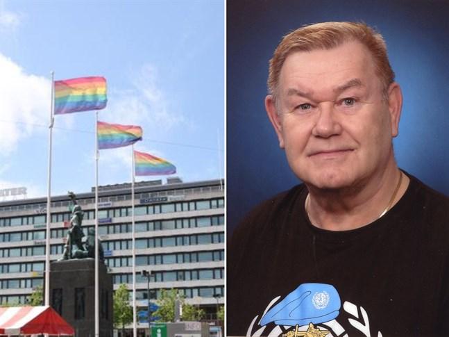 Matti Ollila, 73, vet hur det är att behöva gömma sig på grund av sexuell tillhörighet. Han minns de hemliga festerna på Brändö under sin ungdomstid.