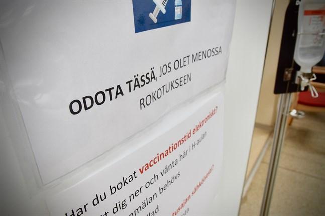 Flertalet coronafall har konstaterats bland personer som befunnit sig i Hangö under veckoslutet. Arkivbild.