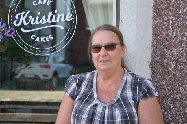 Anna-Lena Kallio har valt att stänga Kristine Café & Cake under sommarmarknaden.