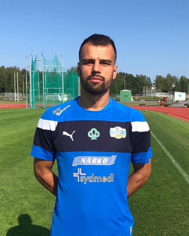 Samir Isanovic förstärker Krafts anfall. Han är spelklar till matchen mot Vasa IFK.