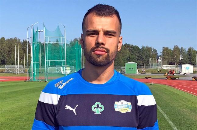 Samir Isanovic är Krafts nya målskytt.