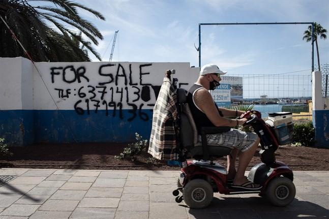 Smittspridningen på Kanarieöarna har ökat kraftigt under de senaste dagarna. Arkivbild.