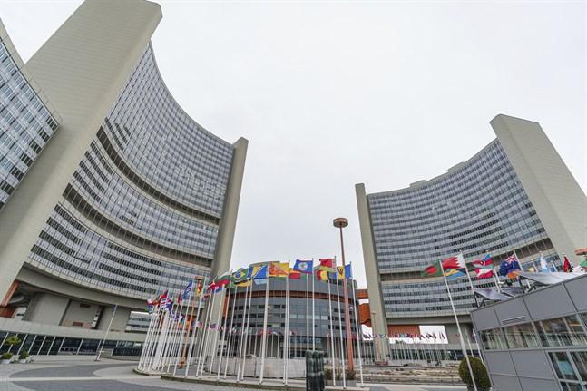 Amerikanska diplomater i Wien misstänks ha drabbats av Havannasyndromet. På bilden en FN-byggnad i staden.