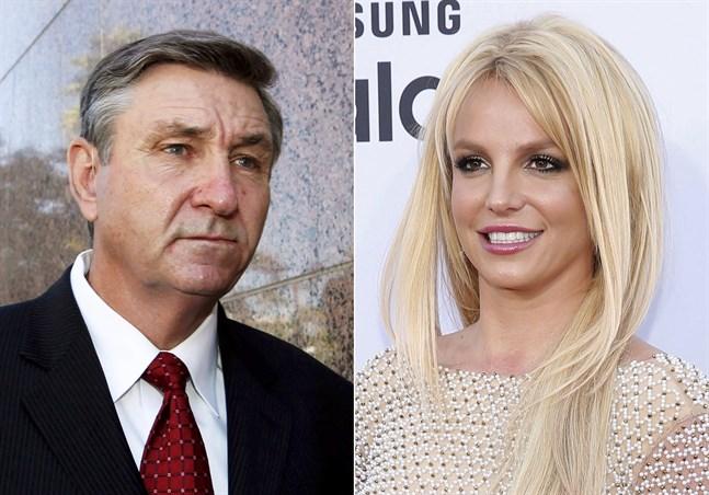 Jamie Spears har varit förmyndare för sin dotter Britney Spears sedan 2008. Arkivbilder.
