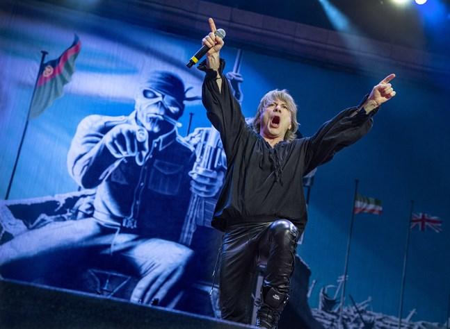 Iron Maiden uppträdde på Sweden Rock-festivalen 2018. Arkivbild.