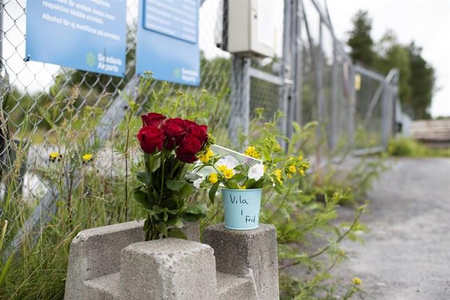 Den 14 juli var det två år sedan flygolyckan i Umeå. Arkivbild.