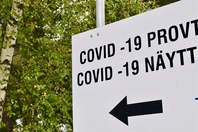 Sammanlagt har 461 nya coronafall registrerats på onsdagen.