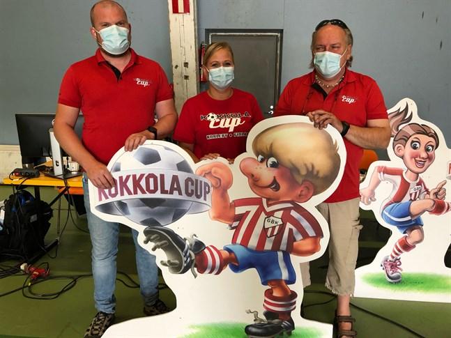 Dags för Kokkola Cup, den 40:e i ordningen. Thomas Brännbacka, Minna Wentus och Stefan Thylin informerade om årets turnering.