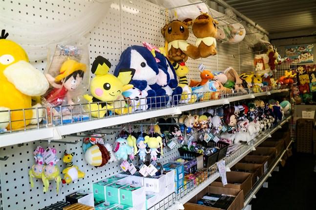 Mjukisdjuren består bland annat av Pokemonfigurer.