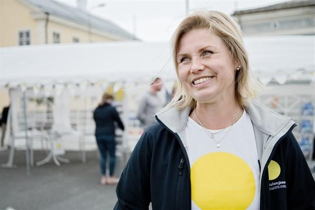 Heidi Matinlassi anser att dagen varit lyckad.
