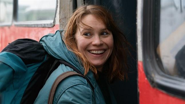 """I Karleby får man chansen att se Seidi Haarla i den prisvinnande filmen """"Kupé nr 6"""" innan den går upp på bio i resten av landet."""