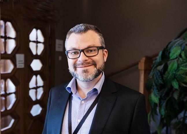 Kristian Ranta leder Nordeas verksamhet i Österbotten.
