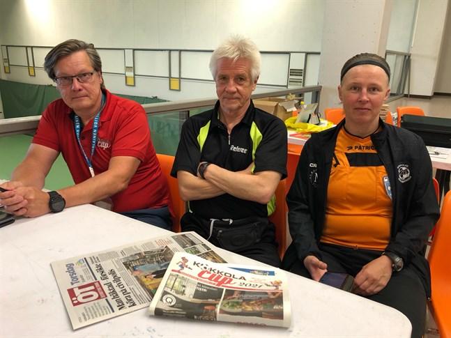 Tävlingschef Kimmo Koivukoski har tillsammans med Peter Nylund och Anne Brandt delat ut cirka 1300 domaruppdrag.
