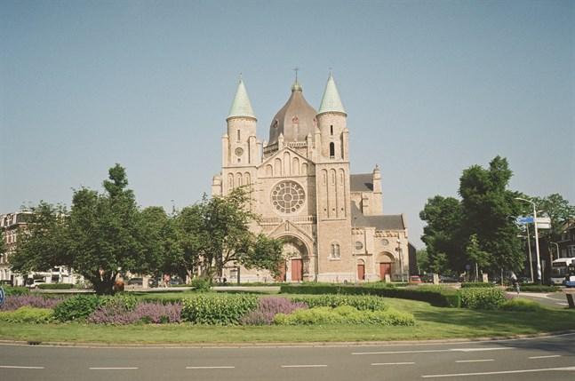 En kyrka i Maastricht.