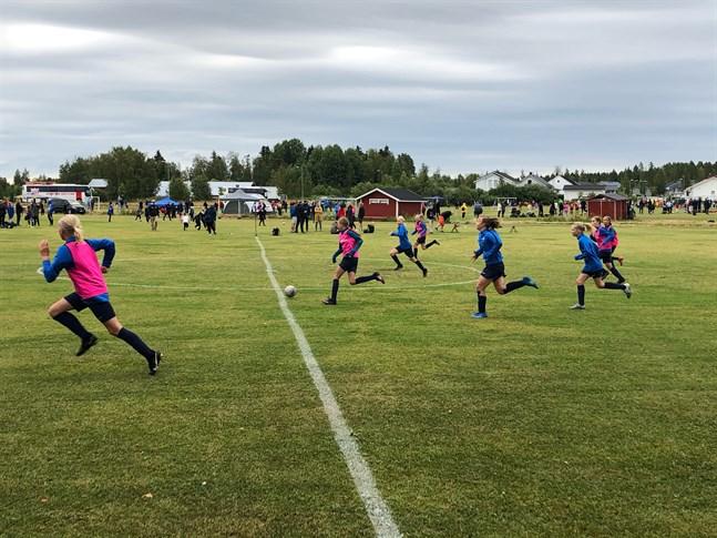 Istället för match blev det träningspass för FC Espoo.