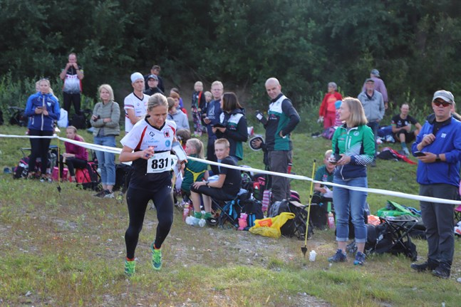 Jenny Pataja fick nöja sig med en andraplats.