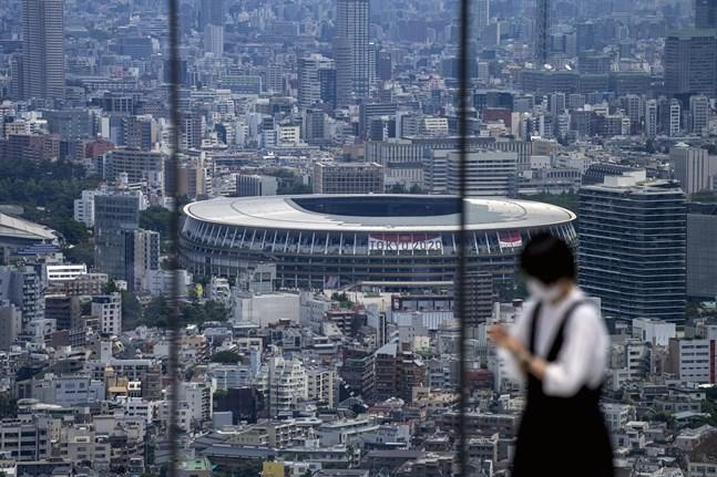 Tokyos Olympistadion. Arkivbild.