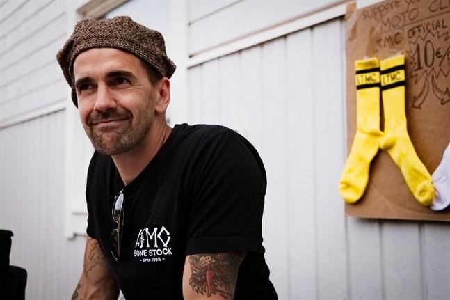 Julien Miretti, ursprungligen från Frankrike, deltog i motocross-showen. Hans väg till att bli Larsmobo började med Camp Larsmo, för över tio år sedan.