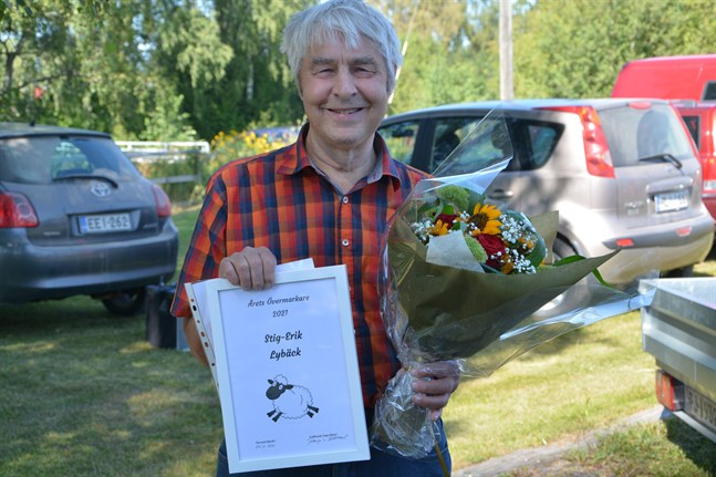Stig Erik Lybäck har blivit framröstad som årets övermarkare 2021.