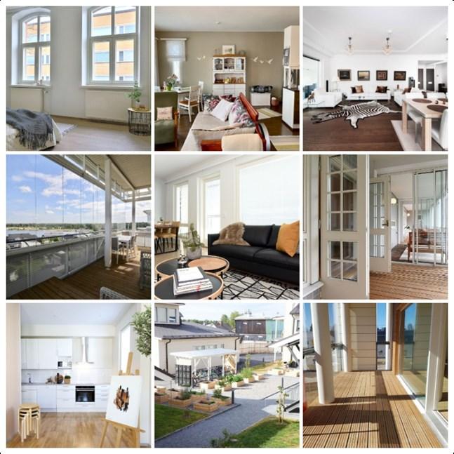 Av de tio dyraste lägenheterna finns de flesta i Karlebyregionen.