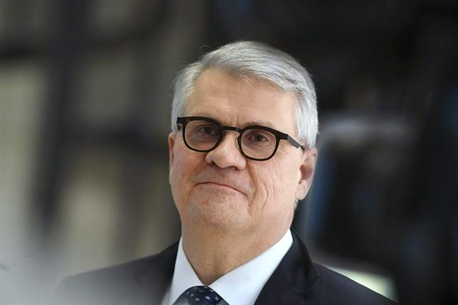 Skogsbolaget UPM:s vd Jussi Pesonen lyfte fram UPM Biorefinings goda resultatform i samband med kvartalsrapporten i torsdags.