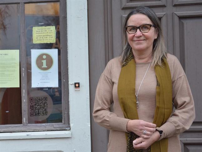Margit Kaseva slutar som förvaltningsdirektör. Hon avgår med pension i vår.