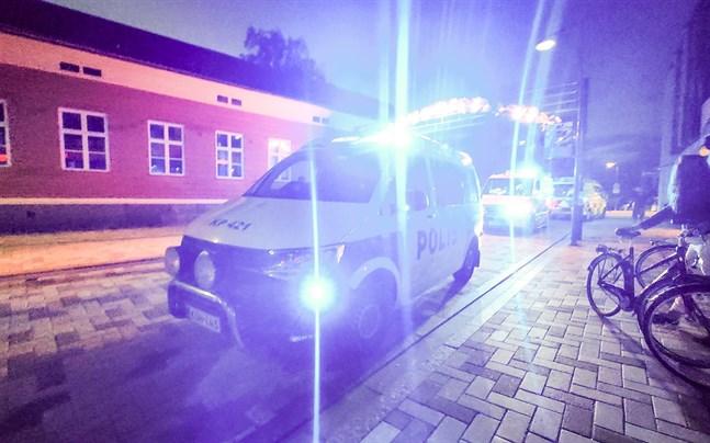 Jakobstadspolisen ingrep i många trafikförseelser under veckoslutet.