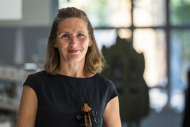 Cecilia Zilliacus är beredd att köra igång årets musikfestspel.