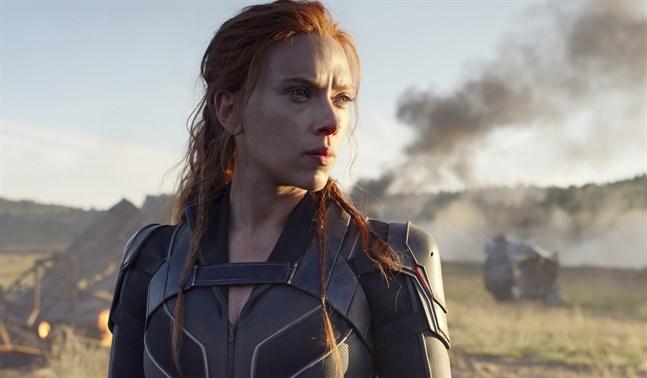 Scarlett Johansson har spelat rollfiguren Black Widow i Marvels universum i tio års tid. Pressbild.