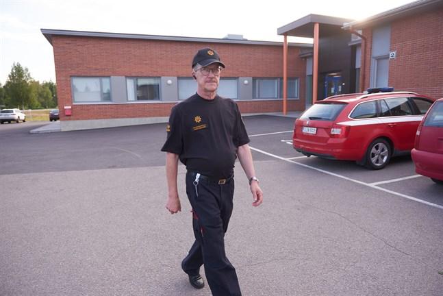 Jarmo Haapanen, räddningschef på Jokilaakso räddningsverk.