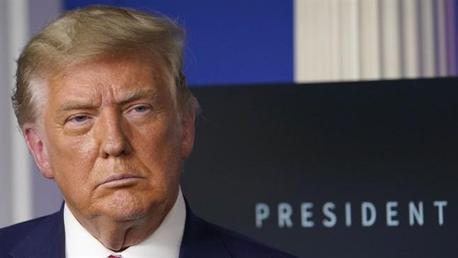 Avgående presidenten Donald Trump försökte få justitiedepartementet att ogiltigförklara valet, enligt dokument som The New York Times kommit över. Arkivbild.
