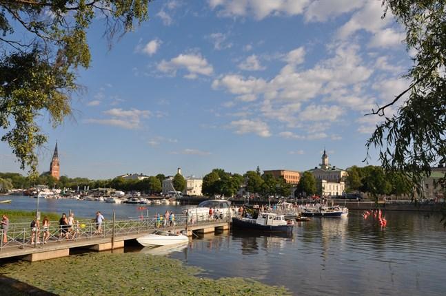 Satakunta, med centralorten Björneborg, är i accelerationsfasen.