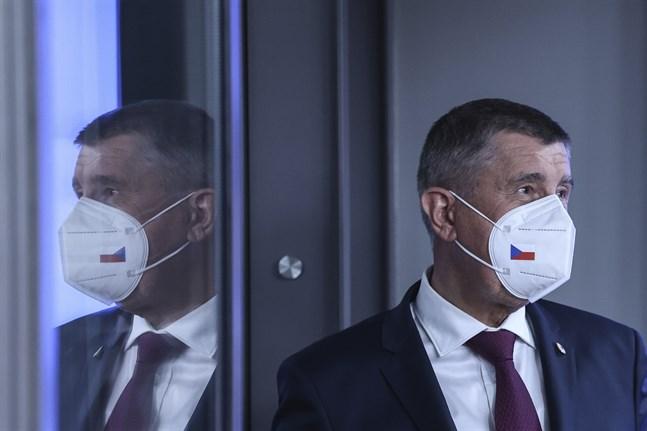 Tjeckiens premiärminister Andrej Babis. Arkivbild.