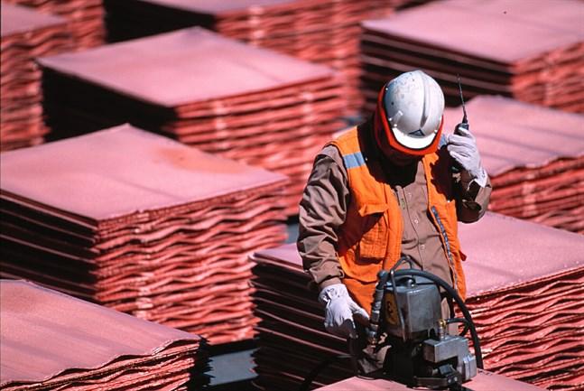 Den anställda på koppargruvan Escondida har röstat för strejk. Arkivbild.