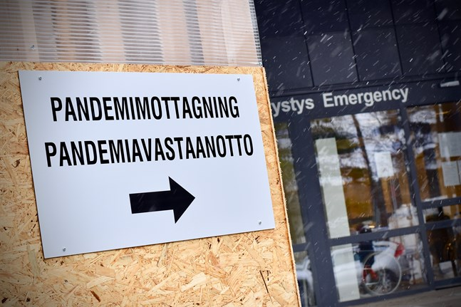 Incidensen i Finland än nu tillbaka över 120.