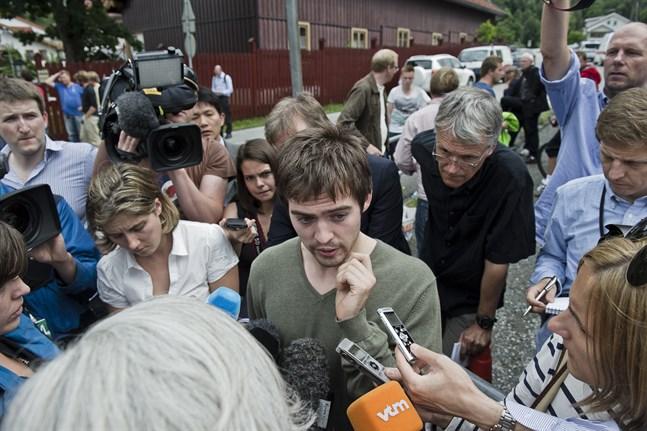 En 22-årig Torbjørn Vereide intervjuas dagen efter att han överlevt attentatet på Utøya 2011. I höst ställer han upp i valet till stortinget.
