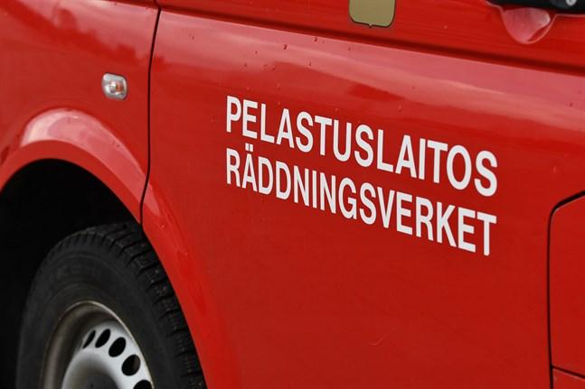 Utryckningen i Euraåminne skedde vid 19.40-tiden på lördagskvällen.