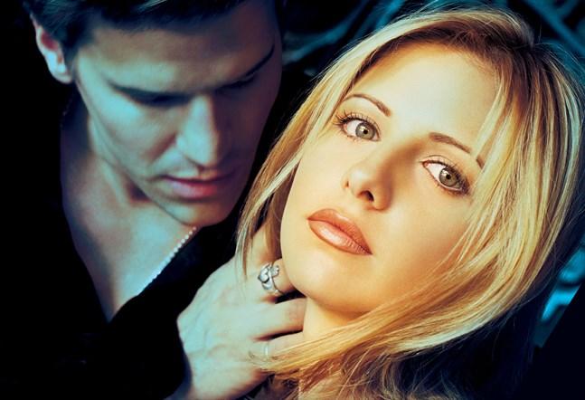 """""""Buffy och vampyrerna"""" sänders i sju säsonger med Sarah Michelle Gellar i huvudrollen som Buffy Summers. Arkivbild."""