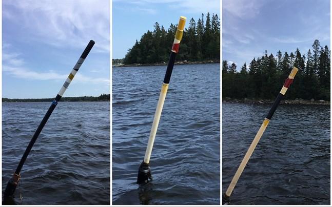 20–30 av de remmare som Petsmo båtklubb har placerat ut, har fått extra reflexer på sig. Då reflexer klistras på fel plats,  gör det remmaren missvisande.