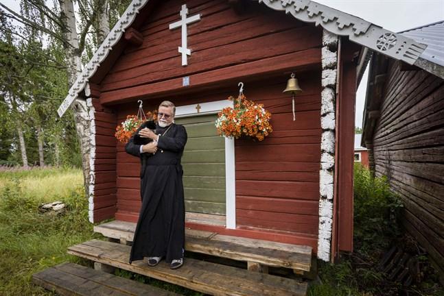Metropolit Elia Wallgren har ett kapell på sin gård i Korsnäs. Kapellet är öppet för besök under sommarhalvåret.
