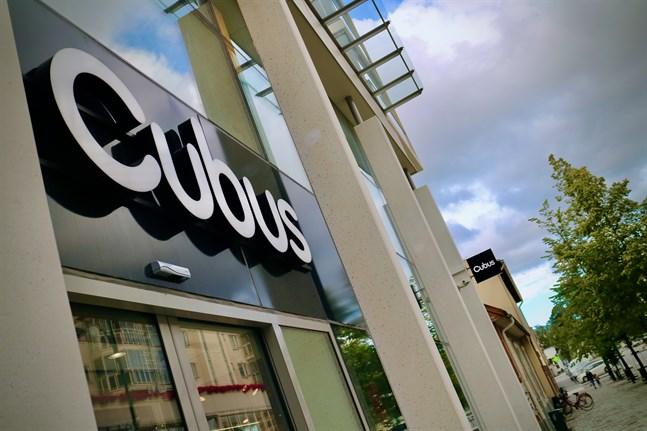 Sam Stenberg hoppas att Cubus-lokalen ska ha en ny hyresgäst när julhandeln drar igång.