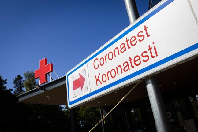 Under gårdagen togs 285 coronaprover i Vasa sjukvårdsdistrikt.