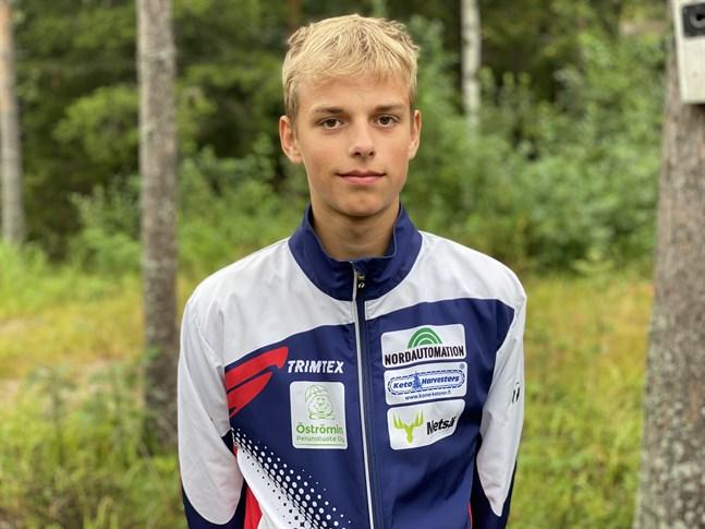 Kasper Bergström åker till Åland för att försvara sitt FSOM-guld.