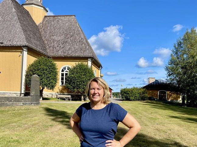 Annika Björklund är själv Essebo. Hon betonar att församlingens fokus behöver ligga på vad alla medlemmar har gemensamt så här efter sammanslagningen.