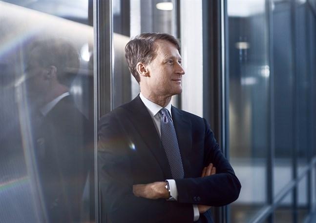 Koncernens vd Torbjörn Magnusson blickar framåt och målet är att fortsätta sälja bort Nordea-aktier.