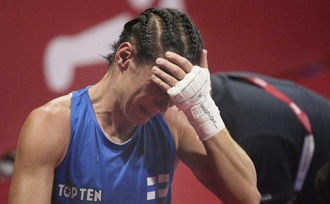 Mira Potkonen var förkrossad efter OS-semifinalen – hennes sista match i karriären.