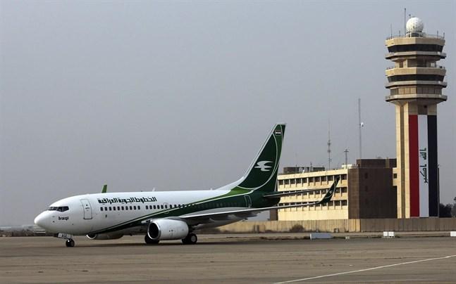 Flygplan från Iraqi Airways.