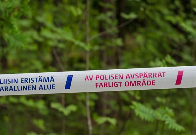 En utländsk man dog i samband med en trafikolycka i Kuhmo förra veckan.