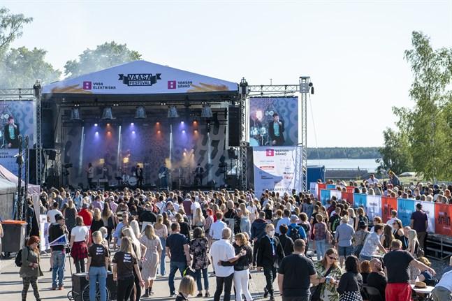 På torsdag drog tredagarsevenemanget Vasa festival igång. Här kan du se bilder från dag ett.